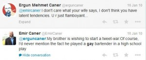 Ergun Caner: Practicing Muslim?  Really?