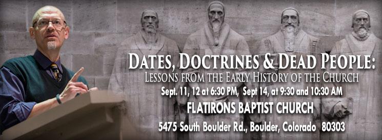 Dates Doctrines Dead