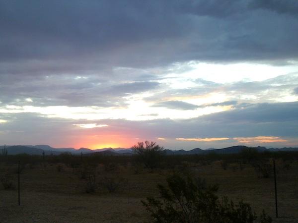 New River Sunrise