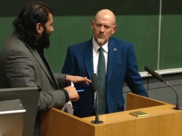 Great Debate with Adnan Rashid at Trinity College, Dublin